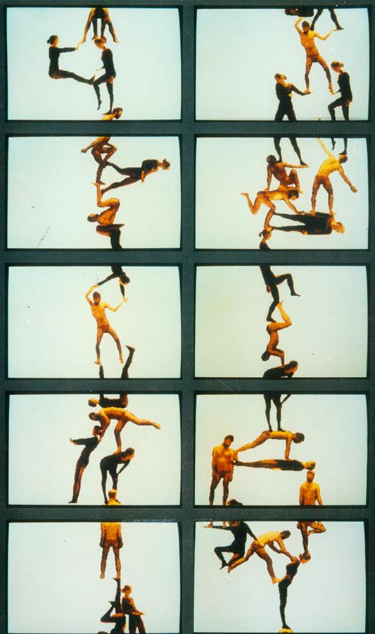Waliczky Tamás: Mobiles Human Motions, 1986-88