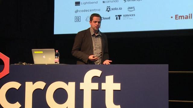 Prekopcsák Zoltán, Craft Conference, Budapest, 2018